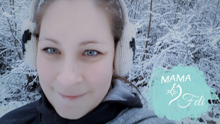 me in snow